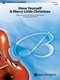Have Yourself a Merry Little Christmas for Orchestra published by Alfred (FULL SCORE ONLY)