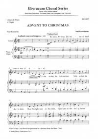Advent to Christmas (Unison) by Rawsthorne published by Eboracum