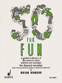 50 for Fun for Descant Recorder published by Schott
