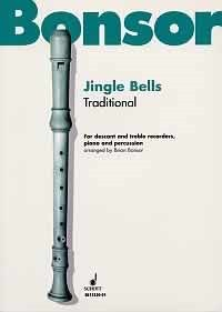 Jingle Bells for Recorders, Piano and Percussion published by Schott