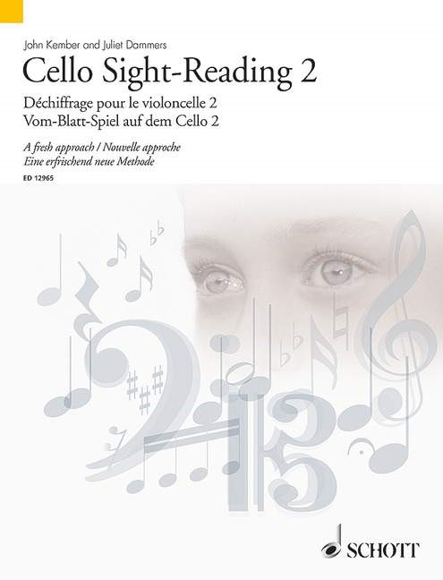 Cello Sight Reading 2 for Cello published by Schott
