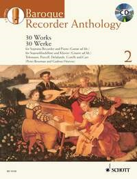 Baroque Recorder Anthology 2 Book & CD published by Schott and Co