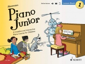 Piano Junior : Lesson Book 1 published by Schott