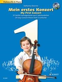 My First Concert for Cello Book & CD published by Schott