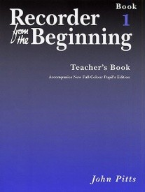 Recorder from the Beginning 1 Teachers Book published by E J A