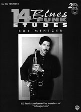 14 Blues & Funk Etudes for Eb Instruments by Mintzer published by Warner