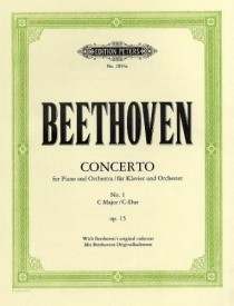 Beethoven: Piano Concerto No.1 in C Major Opus 15 published by Peters Edition