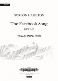 The Facebook Song by Hamilton SAB & Piano published by Peters Edition
