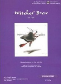 Lumsden: Witches' Brew for Cello Book & CD published by Peters