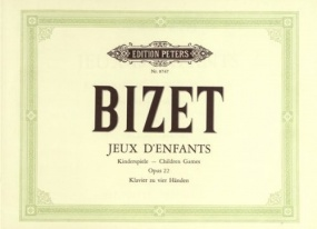 Bizet: Jeux d'enfants Opus 22 for Piano Duet published by Peters