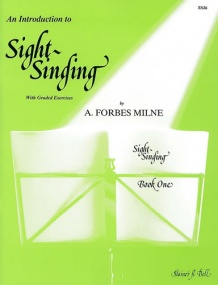 Forbes Milne: Introduction To Sight Singing Book 1 by published by Stainer and Bell