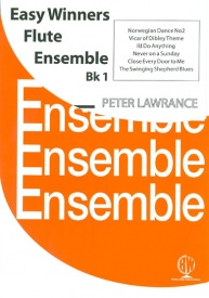 Easy Winners for Flute Ensemble Book 1 published by Brasswind