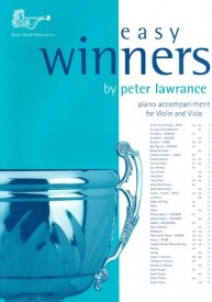 Easy Winners Piano Accompaniment for Violin & Viola published by Brasswind