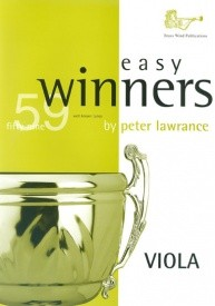 Easy Winners Book Only for Viola published by Brasswind