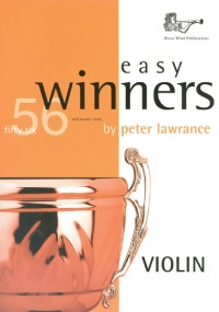 Easy Winners Book & CD for Violin published by Brasswind