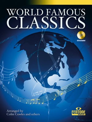 World Famous Classics for Descant Recorder Book & CD published by Fentone