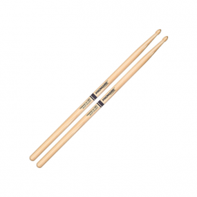 Promark: Forward 5A .550'' Hickory Tear Drop Wood Tip Drumsticks