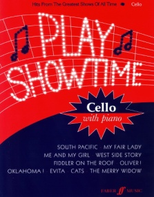 Play Showtime for Cello published by Faber