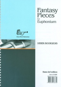 Bourgeois: Fantasy Pieces for Euphonium (Bass Clef) published by Brasswind