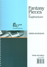 Bourgeois: Fantasy Pieces for Euphonium (Treble Clef) published by Brasswind