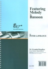 Featuring Melody by Lawrance for Bassoon published by Brasswind