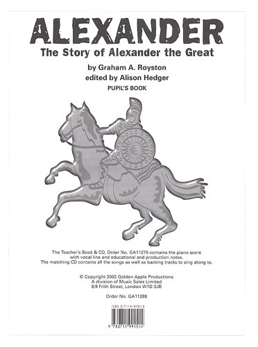 Alexander Pupil's Book published by Golden Apple