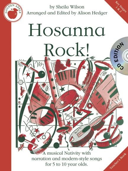 Hosannah Rock Teacher's Book & CD published by Golden Apple Productions