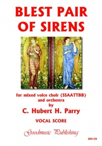Parry: Blest Pair Of Sirens (Double Chorus SSAATTBB) published by Goodmusic