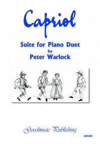 Warlock: Capriol Suite for Piano Duet published by Goodmusic