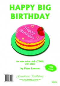 Lawson: Happy Big Birthday TTBB published by Goodmusic
