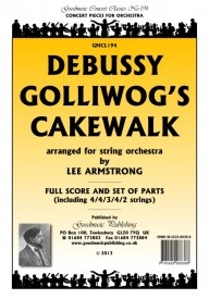 Debussy: Golliwog's Cakewalk Orchestral Set published by Goodmusic