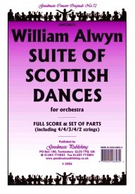 Alwyn: Suite of Scottish Dances Orchestral Set published by Goodmusic