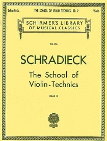 Schradieck: School Of Violin Technics Book 2 (Double Stops) published by Schirmer