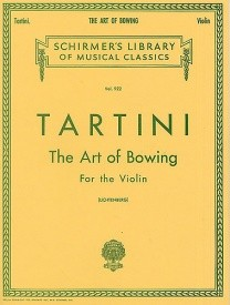 Tartini: The Art Of Bowing For The Violin published by Schirmer