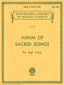 Album Of Sacred Songs - High Voice published by Schirmer