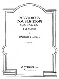 Trott: Melodious Double-Stops Book 2 for Violin published by Schirmer