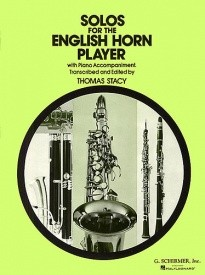 Solos for English Horn Player (Cor Anglais) published by G Schirmer