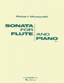 Muczynski: Sonata For Flute And Piano Opus 14 published by Schirmer