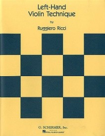 Ricci: Left Hand Violin Technique published by Schirmer