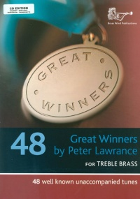 Great Winners for Treble Brass Book & CD published by Brasswind