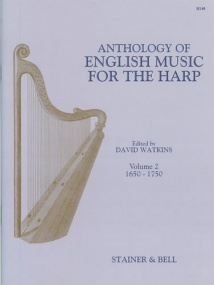 An Anthology of English Music for Harp. Book 2: 1650-1750 published by Stainer and Bell