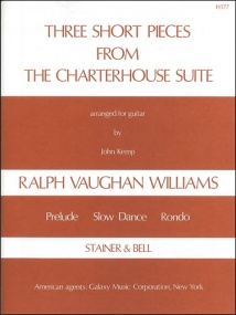 Vaughan Williams: Three Short Pieces for Guitar published by Stainer & Bell