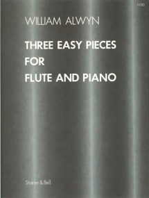 Alwyn: Three Easy Pieces for Flute published by Stainer & Bell