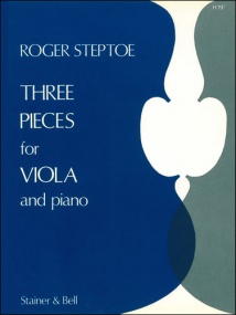 Steptoe: Three Pieces for Viola published by Stainer & Bell