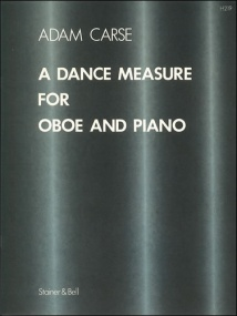 Carse: A Dance Measure for Oboe published by Stainer & Bell