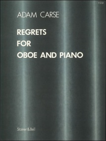 Carse: Regrets for Oboe published by Stainer & Bell