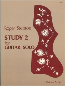 Steptoe: Study 2 for Guitar published by Stainer & Bell
