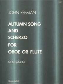 Reeman: Autumn Song and Scherzo for Flute published by Stainer & Bell