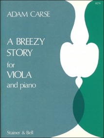 Carse: A Breezy Story for Viola published by Stainer & Bell