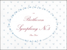 Beethoven: Symphony No 5 in C minor Opus 67 for Piano published by Peters